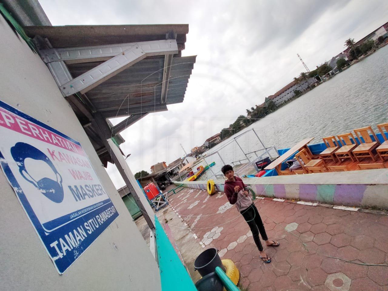 Wisata Air Situ Rawa Besar Ditutup Sementara