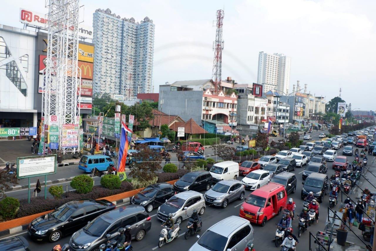 Kemacetan Akhir Pekan di Jalan Raya Margonda
