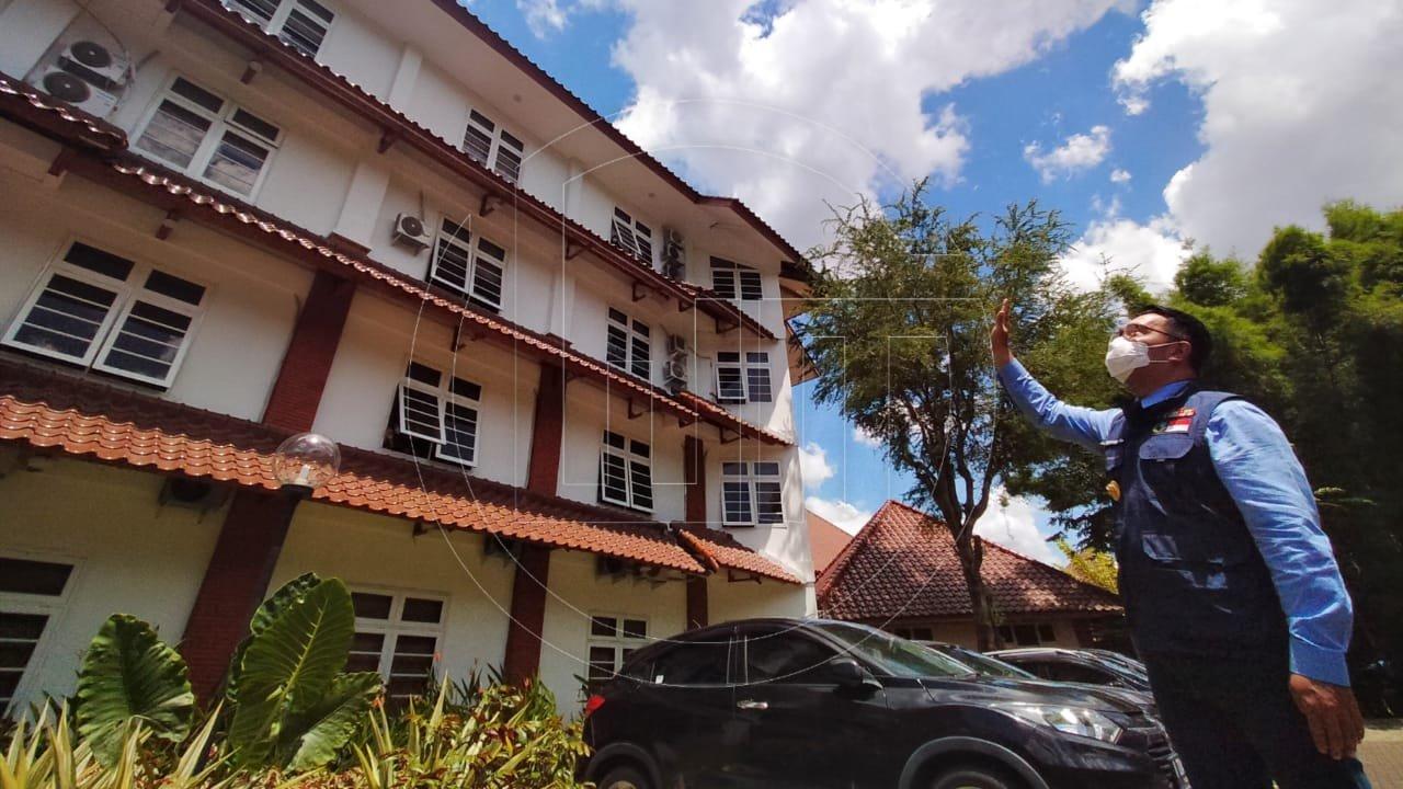 Ridwan Kamil Meninjau Tempat Isolasi Pasien Covid-19