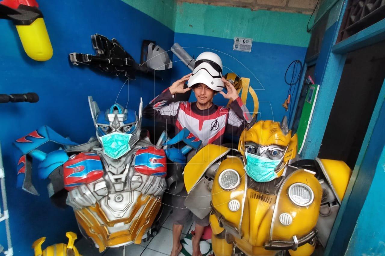 Pembuatan Kostum Superhero di Depok