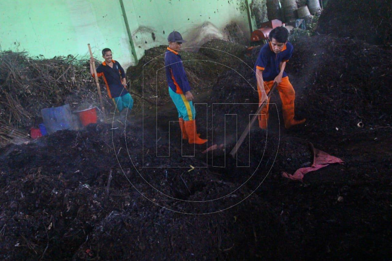 Sampah Rumah Tangga Disulap Menjadi Pupuk Organik