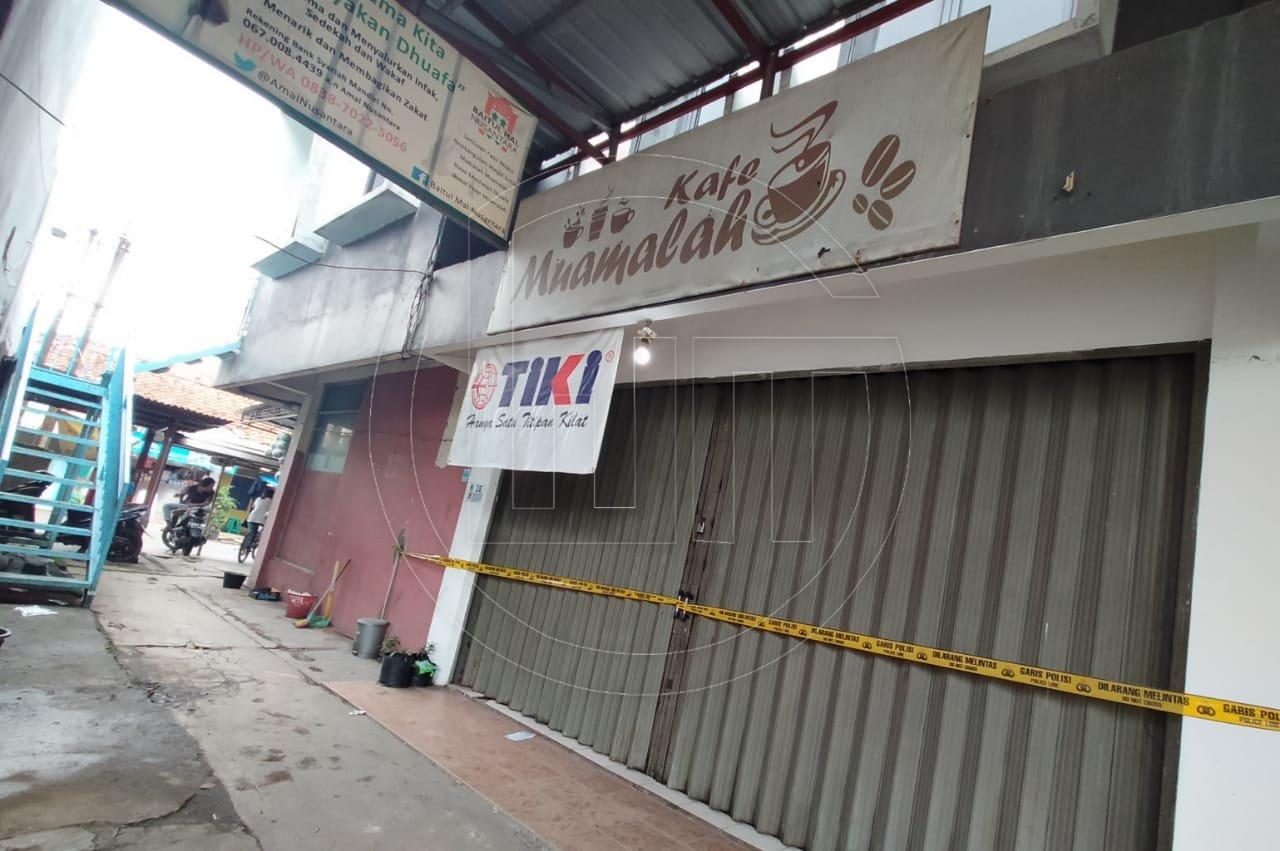 Ruko Pasar Muamalah Disegel Polisi