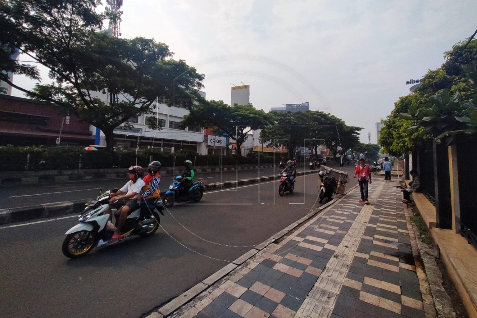 Pedestrian di Kota Depok Harus Dipercantik