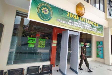 Pengadilan Negeri Depok Ditutup Sementara