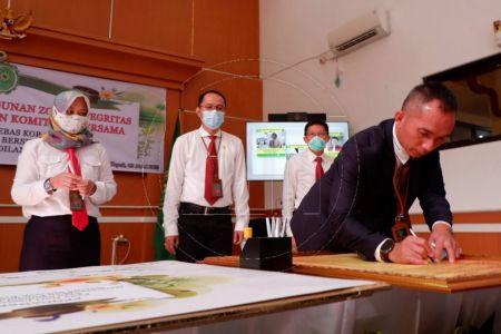 Pencanangan Zona Integritas Pengadilan Negeri Depok