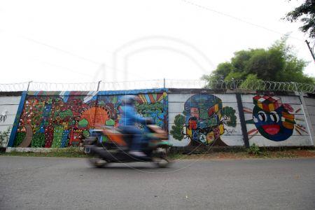Mural Kreatif di Depok
