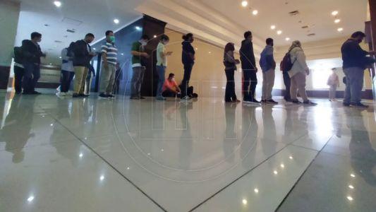 Rapid Test Anggota PPK dan PPS se-Kota Depok