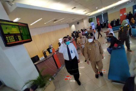 Sidak Pelaksanaan PPKM Di Kota Depok