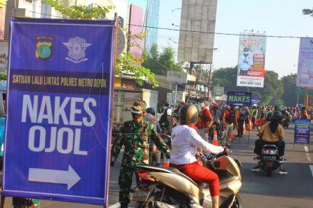 Kepadatan Lalu Lintas Menuju Jakarta